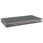 Hewlett Packard Enterprise 1920-48G Managed Gigabit Ethernet (10/100/1000) 1U Black
