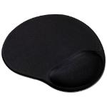 SPEEDLINK Vellu Mousepad with Gel Wristrest Support,Black (SL-6211-SBK-01)