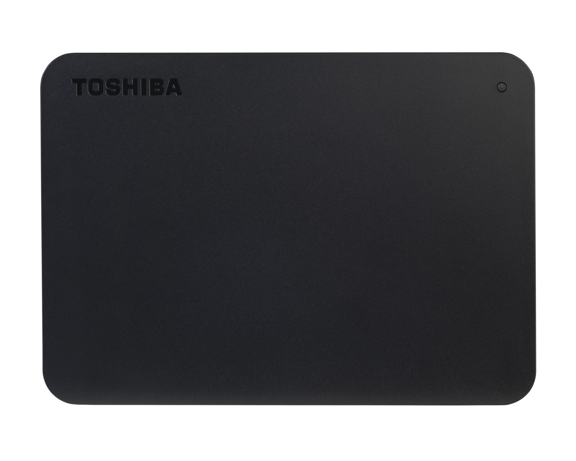 Toshiba Canvio Basics 1 TB Black