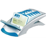 Durable VISIFIX® desk vegas business card file