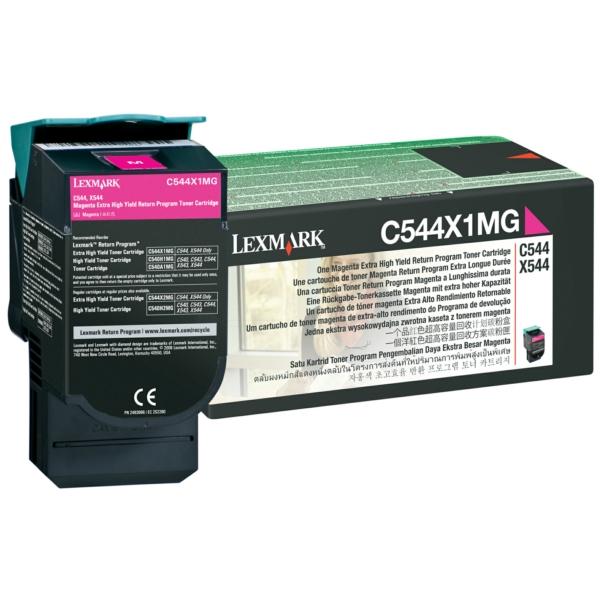 Lexmark C544X1MG Toner magenta, 4K pages