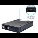 """SYBA SY-MRA25059 storage drive enclosure 2.5"""" HDD/SSD enclosure Black"""