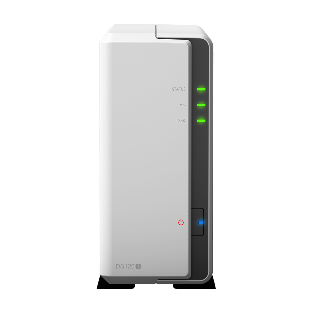 Synology DiskStation DS120j Ethernet LAN Tower Grey,White NAS