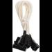 BitFenix Molex - 3 x 3-Pin Fan 12v 20cm Molex (4-pin) Black,White