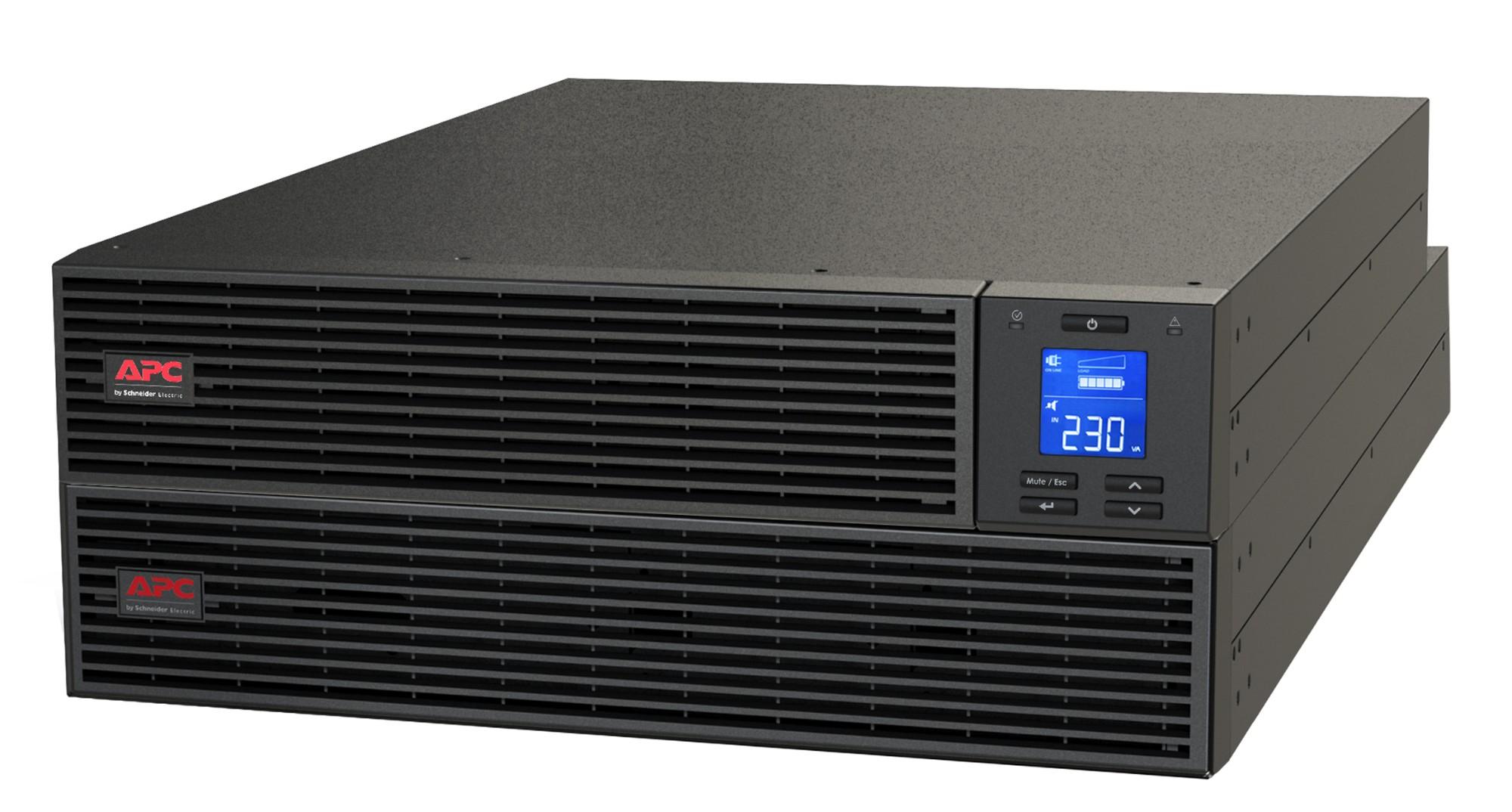 APC Easy UPS ONLINE SRV RM Ext. 1000VA230V Doble conversión (en línea) 1000 VA 800 W 4 salidas AC