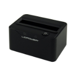 LC-Power LC-DOCK-25-C storage drive docking station USB 3.2 Gen 2 (3.1 Gen 2) Type-C Black