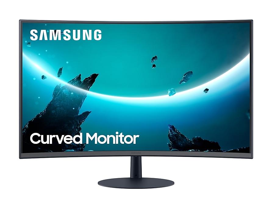 Samsung LC27T550FDU 68.6 cm (27IN) 1920 x 1080 pixels Full HD Blue, Gray LC27T550FDUXEN