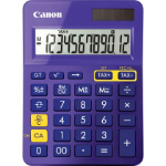Canon LS-123K calculator Desktop Rekenmachine met display Paars