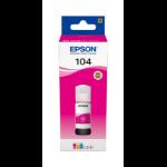 Epson 104 EcoTank Magenta ink bottle