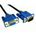 Cables Direct CDEX-LPLZ-21BL VGA cable 1 m VGA (D-Sub) Black,Blue