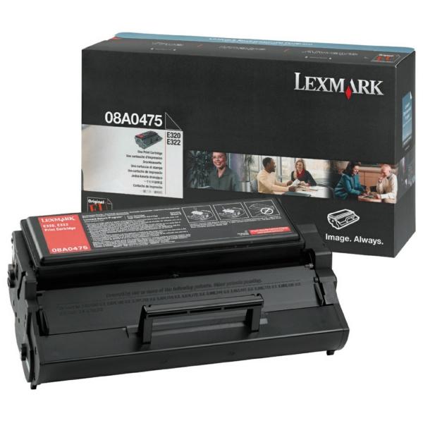 Lexmark 8A0475 Toner black, 3K pages @ 5% coverage