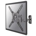 Newstar LED-W430BLACK Flat Panel Wandhalter 139,7 cm (55 Zoll) Schwarz