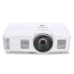 Acer Professional and Education S1383WHne data projector 3100 ANSI lumens DLP WXGA (1280x800) Desktop projector White