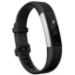 Fitbit Alta HR Wristband activity tracker OLED Wired/Wireless Black,Stainless steel