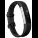 Fitbit Alta HR OLED Pulsera de actividad Negro, Acero inoxidable