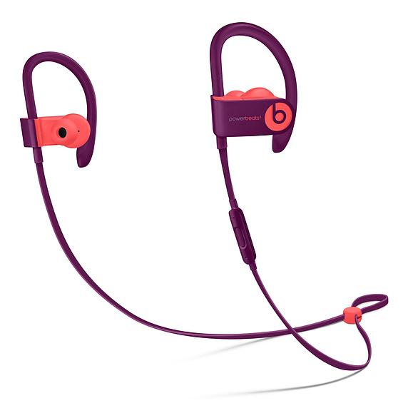 Apple Powerbeats3 mobile headset Binaural Ear-hook,In-ear Magenta,Pink Wireless