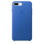 Apple iPhone 8 Plus / 7 Plus Leather Case - Electric Blue