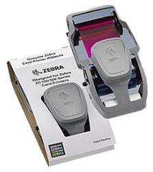 Zebra 800300-350EM printerlint 200 pagina's Zwart, Cyaan, Magenta, Geel