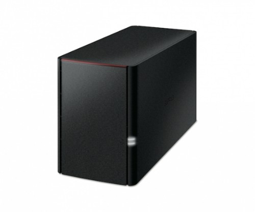 Buffalo LinkStation 220 Ethernet LAN Black Storage server