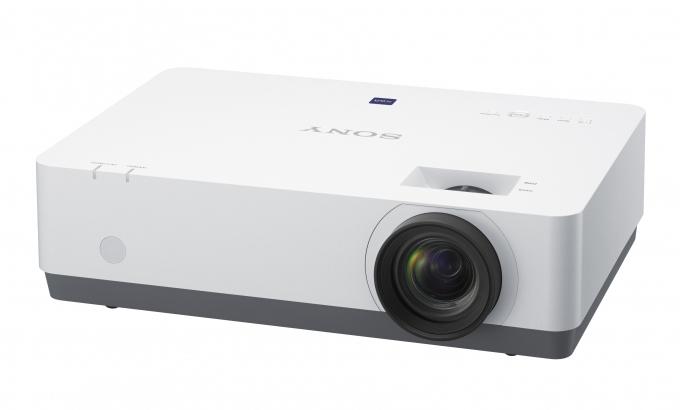 Sony VPL-EX575 videoproyector 4200 lúmenes ANSI 3LCD XGA (1024x768) Proyector para escritorio Negro, Blanco