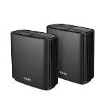 ASUS ZenWiFi AX (XT8) wireless router Tri-band (2.4 GHz / 5 GHz / 5 GHz) Gigabit Ethernet Black