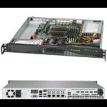 Supermicro SuperServer 5019C-M4L Intel C242 LGA 1151 (Socket H4) Rack (1U) Black
