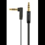 Kanex 6' FlatAngle 3.5 Audio Cb Blk