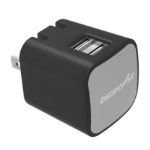 Mizco IS-AC2D mobile device charger Indoor Black,Grey