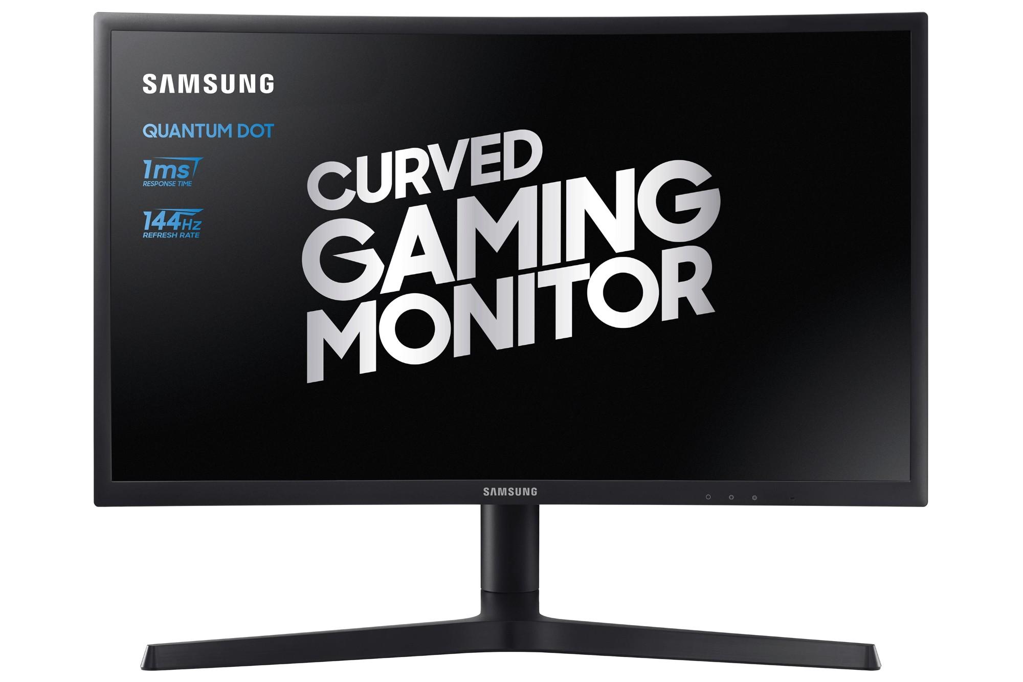 """Samsung C24FG73FQU LED display 59,7 cm (23.5"""") Full HD QLED Curva Negro"""