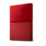 Western Digital My Passport Externe Festplatte 3000 GB Rot