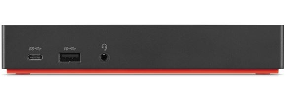LENOVO 40AS0090IT NOTEBOOK DOCK/PORT REPLICATOR WIRED USB 3.0 (3.1 GEN 1) TYPE-C BLACK
