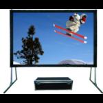 Sapphire SFFS508RP 4:3 Black,Metallic projection screen