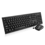 V7 CKW100 USB QWERTY UK English Black keyboard
