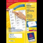 Avery L7162-100 addressing label White