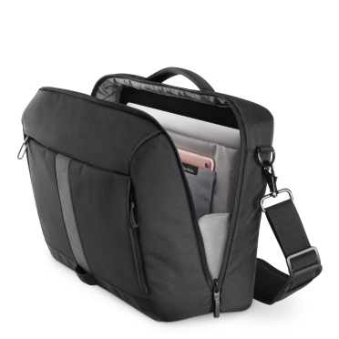 Belkin F8N903 Active Pro Commuter Messenger Bag for 15.6 inch Laptop with Reflective Strip, Security Pocket and Waterproof Base