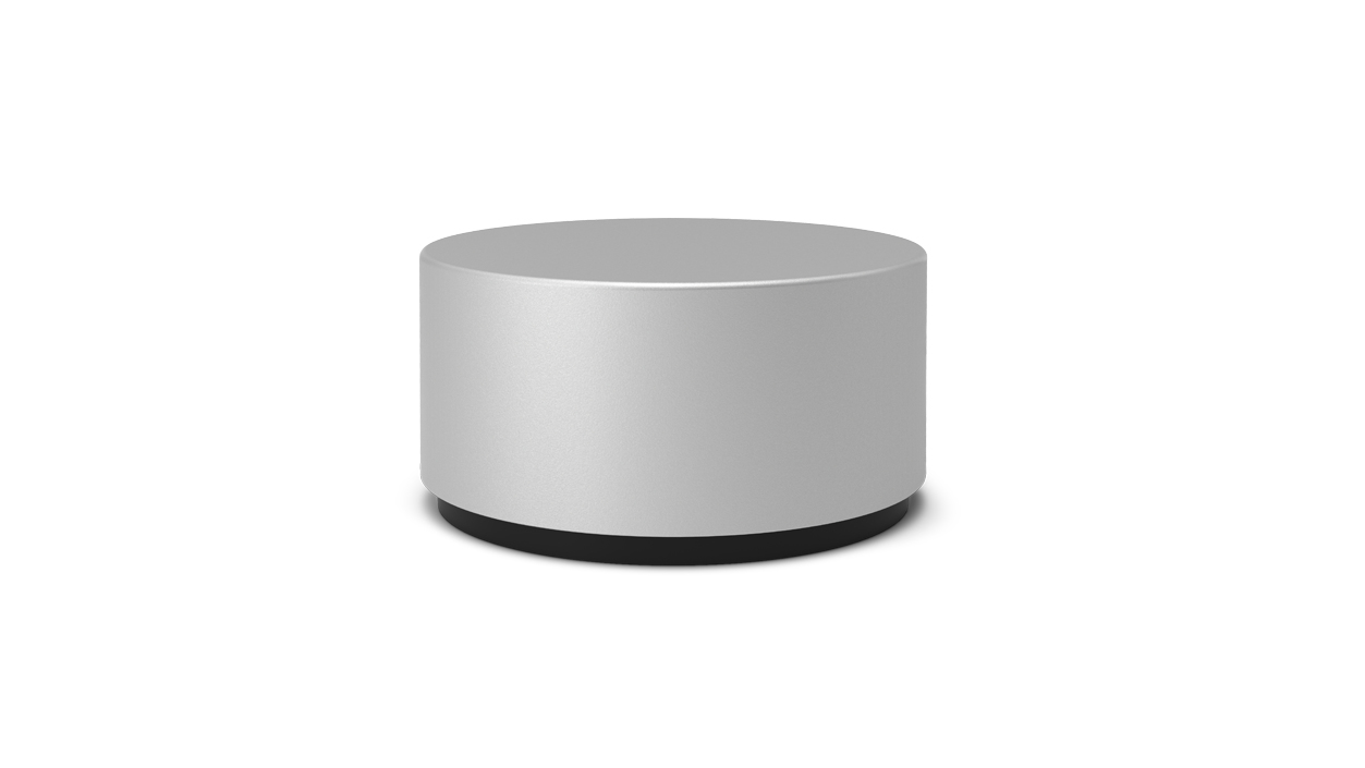 Microsoft Surface Dial Bluetooth Aluminio