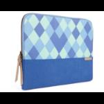 "STM Grace notebook case 38.1 cm (15"") Sleeve case Blue"