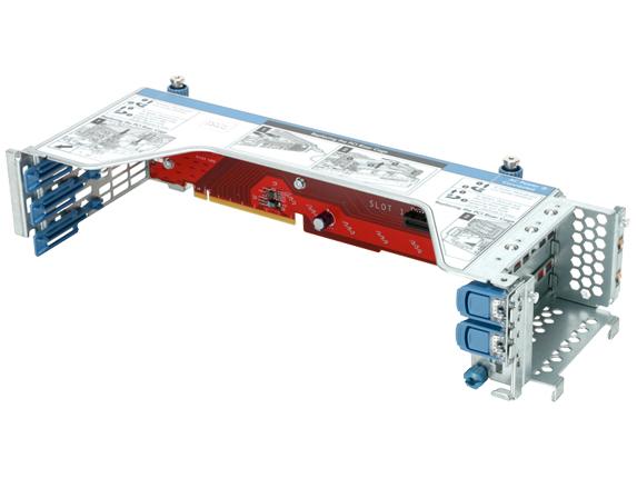 Hewlett Packard Enterprise DL60/120 Gen9 Full Height Half Length PCIe Riser Kit slot expander