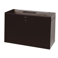 Cathedral Products Value Cathedral Metal File Box A4 Black