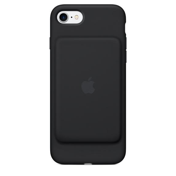 "Apple MN002ZM/A funda para teléfono móvil 11,9 cm (4.7"") Funda blanda Negro"