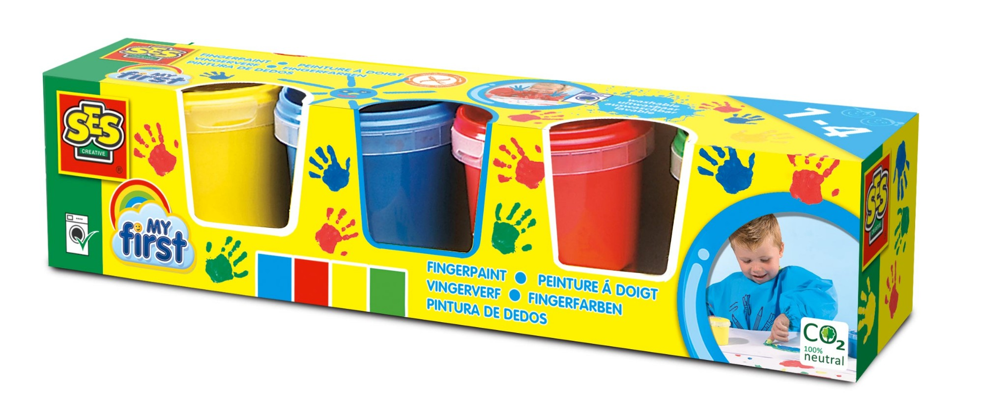 SES Creative My First - Fingerpaint 4 colours x 145ml