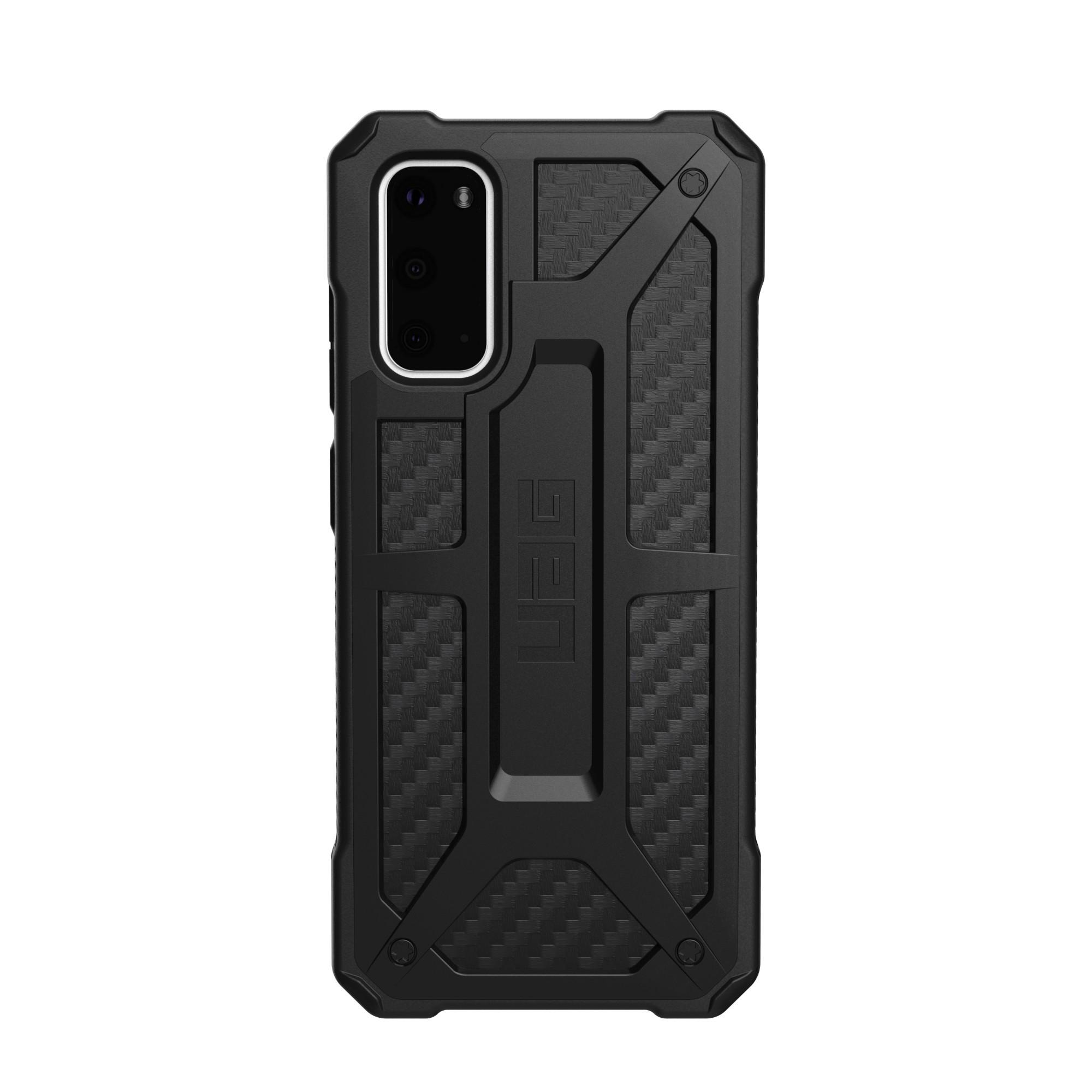 """Urban Armor Gear Monarch Series funda para teléfono móvil 15,8 cm (6.2"""") Negro, Carbono"""