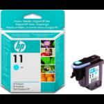 HP 11 Origineel Cyaan 1 stuk(s) Normaal rendement
