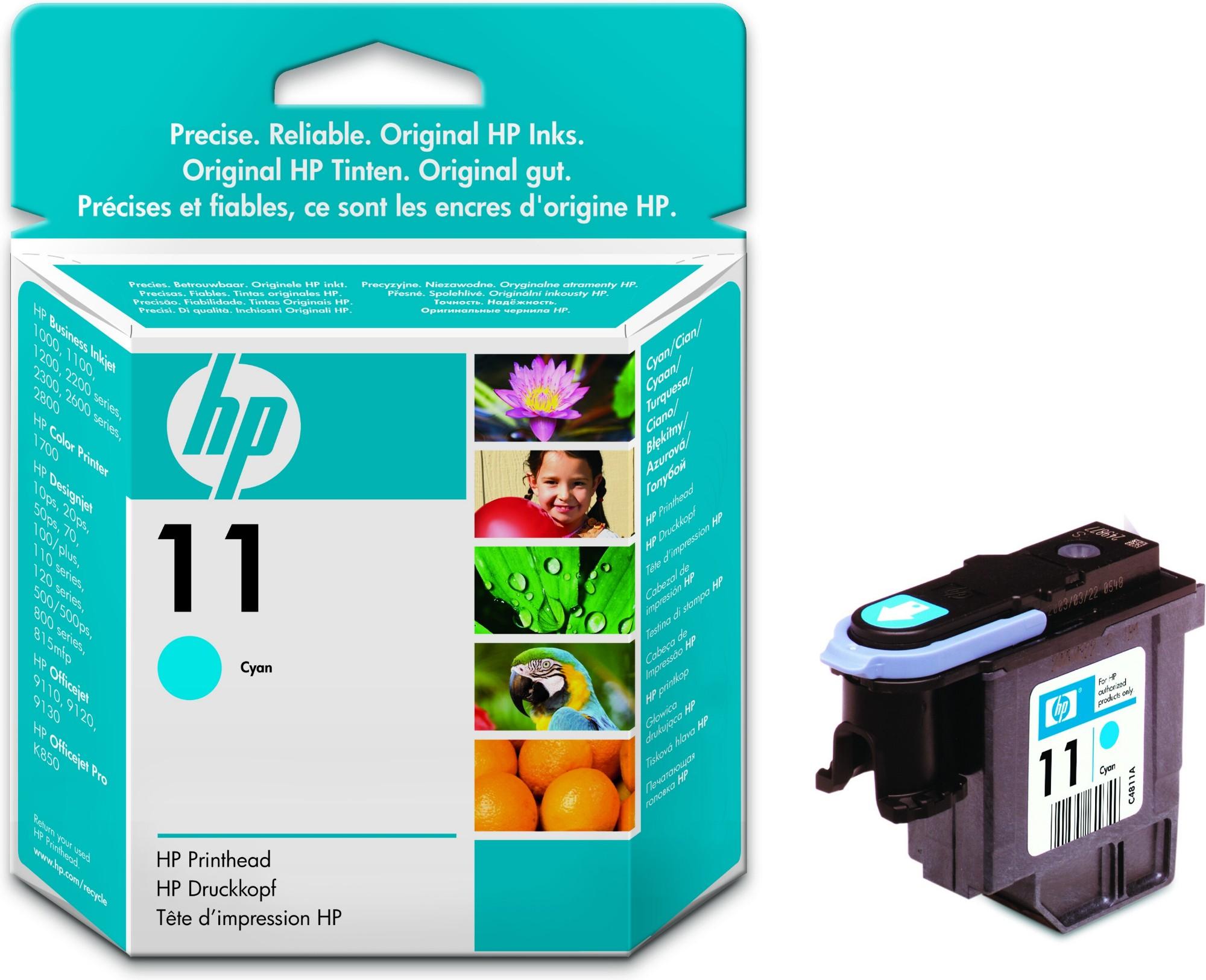 HP 11 Original Cian 1 pieza(s) Rendimiento estándar
