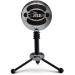 Blue Microphones Snowball Negro, Cromo Micrófono de superficie para mesa