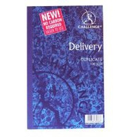 Challenge Duplicate Book Carbonless Delivery Note 100 Sets 210x130mm Ref 100080470 [Pack 5]