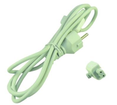 2-Power PWR0001W-EU Power plug type C White power cable