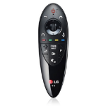 LG AN-MR500 Press buttons Black remote control