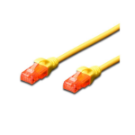 FDL 1M CAT.6 UTP PATCH CABLE - YELLOW