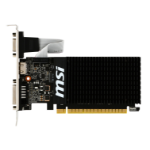 "MSI GeForce GT 710 SILENT ""Low Profile"" 1024MB GDDR3 PCI-Express Graphics Card GT 710 1GD3H LP"